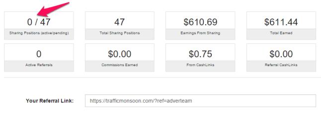 Stan konta Trafficmonsoon